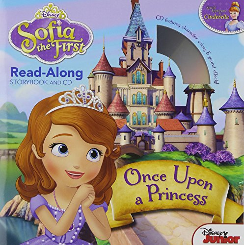 9781423168461: Sofia the First Read-Along Storybook and CD Once Upon a Princess