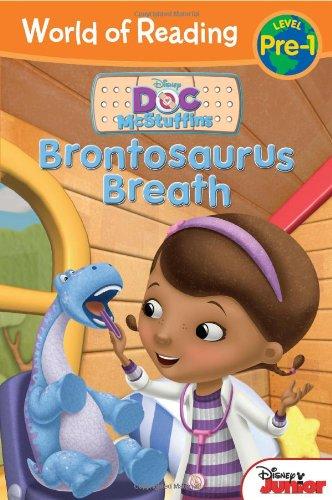 9781423168942: World of Reading: Doc McStuffins Brontosaurus Breath: Pre-Level 1