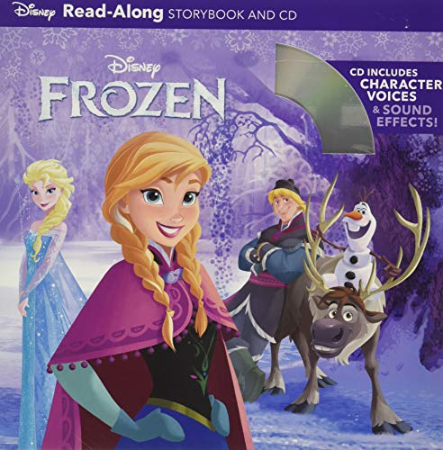 9781423170648: Frozen Read-Along (Book and CD)