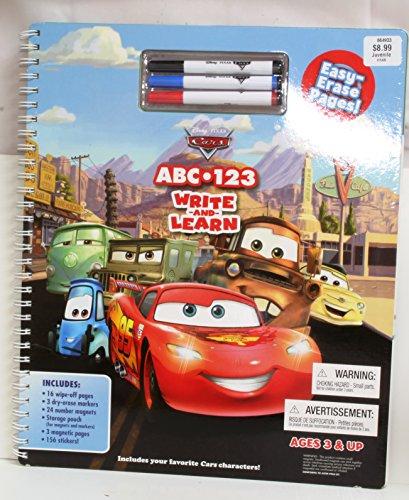 9781423171577: Disney Pixar Cars ABC 123 Write and Learn - AbeBooks