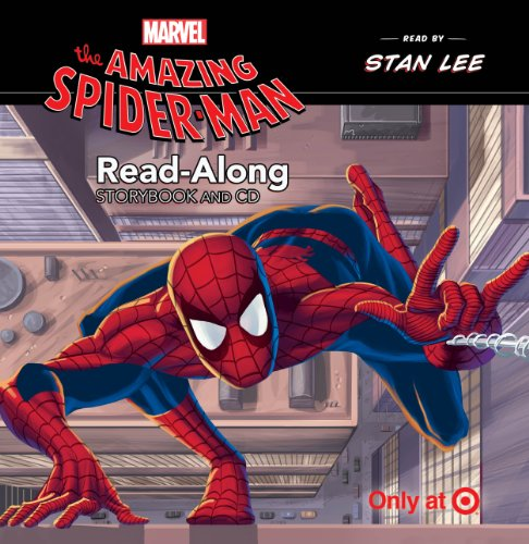 The Amazing Spider-man Read-along Storybook and Cd Only At Target