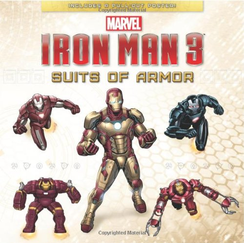 9781423172468: Suits of Armor (Marvel Iron Man 3)