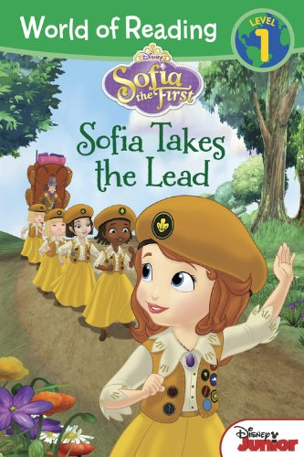 9781423183457: World of Reading: Sofia the First Sofia Takes the Lead: Level 1