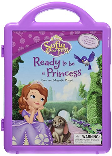 Sofia the First Ready to be a Princess: Book and Magnetic Playset: Disney Book Group