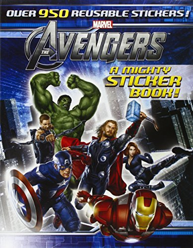 9781423185086: The Avengers: A Mighty Sticker Book (Sticker-Activity Storybook)