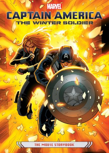 9781423185345: Captain America: The Winter Soldier - The Movie Storybook