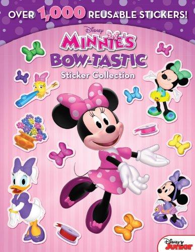 Minnie Minnie's Bow-Tastic Sticker Collection: Kelman, Marcy; Disney Book Group