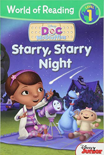 9781423194194: World of Reading: Doc McStuffins Starry, Starry Night: Level 1