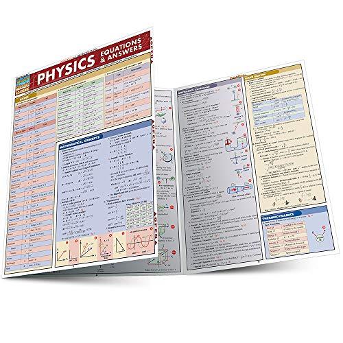 9781423201908: Physics Equations & Answers (Quick Study Academic)