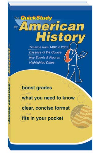 9781423202585: American History (Quick Study Booklet)