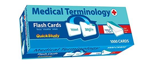 9781423203636: Medical Terminology Flash Cards (Academic)