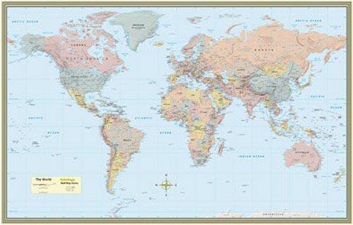 9781423203650: World Map-Paper (Academic)