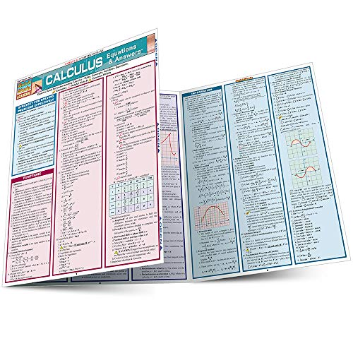 Calculus Equations & Answers (Quickstudy: Academic): BarCharts, Inc.