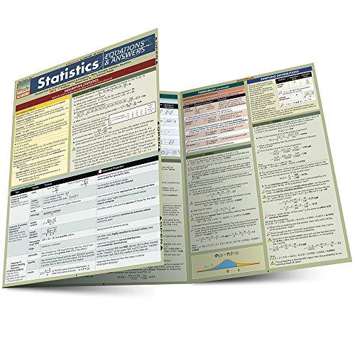 Statistics Equations & Answers (Quickstudy: Academic): BarCharts, Inc.