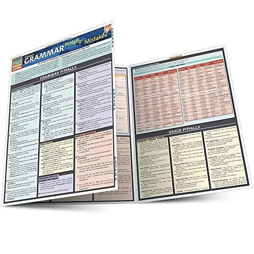 Common Grammar Pitfalls & Mistakes (Quickstudy: Academic): BarCharts, Inc.