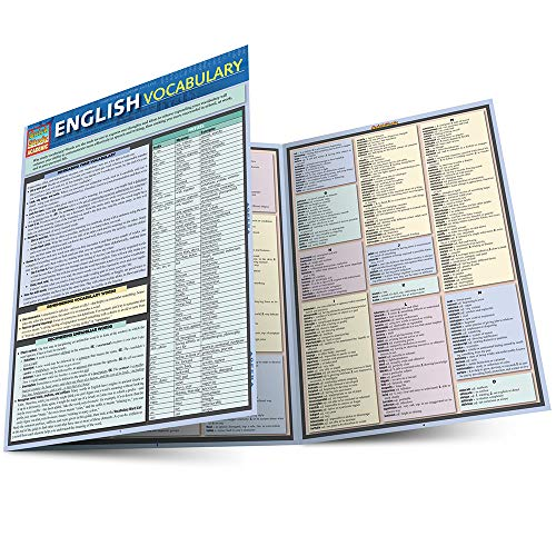 9781423217305: English Vocabulary (Quick Study: Academic)