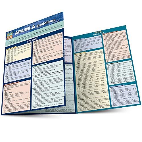 9781423217589: Apa/Mla Guidelines (Quick Study: Academic)