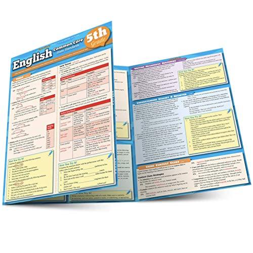 9781423217602: English Common Core 5Th Grade (Quickstudy)