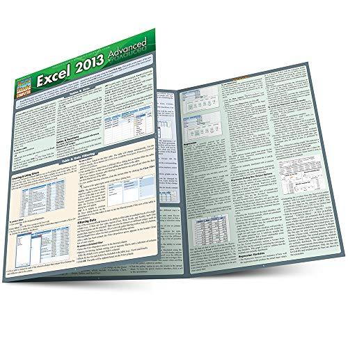 9781423220008: Excel 2013 Advanced (Quick Study Computer)