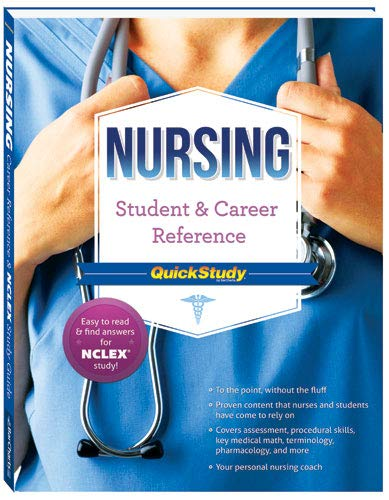 9781423220459: Nursing Student & Career Reference Quickstudy