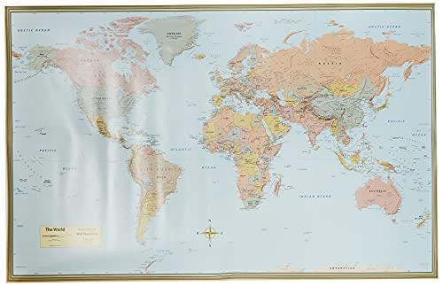 9781423220831: World Map-Laminated