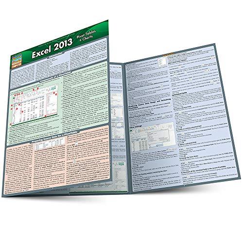 9781423222910: Excel 2013 Pivot Tables & Charts (Quick Study Computer)