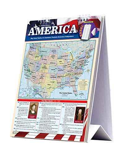 9781423225737: American History (Quick Study Easel)
