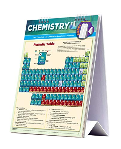 Chemistry Easel: BarCharts Inc