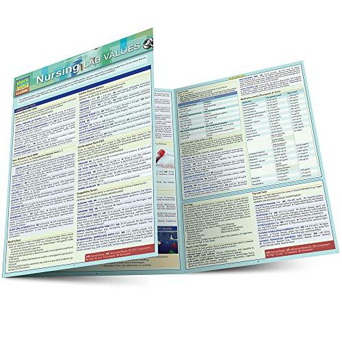9781423233206: Nursing Lab Values (Quick Study Academic)