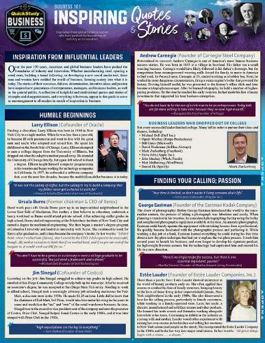 Business 101 - Inspiring Quotes Stories: A: Susan Romberg, Kyle