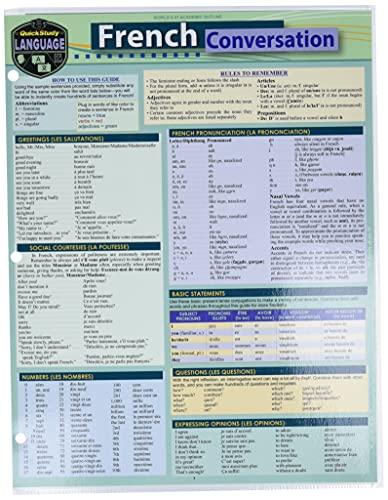 French Conversation: A Quickstudy Language Reference Guide: Arnet, Liliane; Waskiewicz,