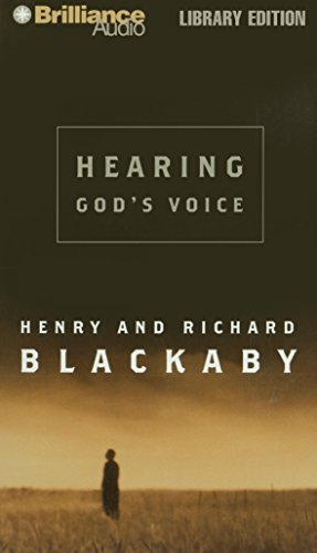 Hearing God's Voice (1423303989) by Henry Blackaby; Richard Blackaby