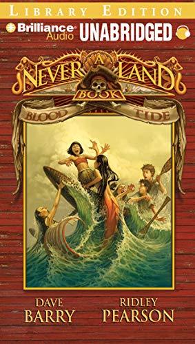 9781423309673: Blood Tide: A Never Land Book (Never Land Adventure Series)