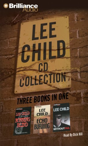 Lee Child CD Collection 2: Running Blind, Echo Burning, Without Fail (Jack Reacher Series): Child, ...