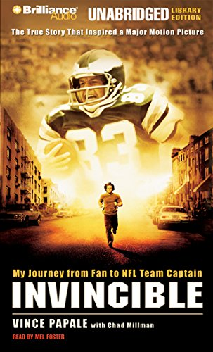 9781423324102: Invincible: My Journey from Fan to NFL Team Captain