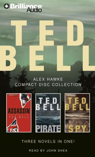 9781423334248: Ted Bell Alex Hawke CD Collection: Assassin, Pirate, Spy (Hawke Series)