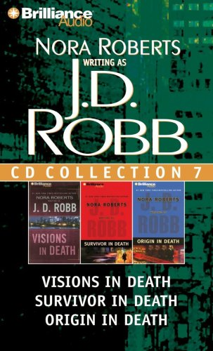 9781423346531: J. D. Robb CD Collection 7: Visions in Death, Survivor in Death, Origin in Death (In Death Series)