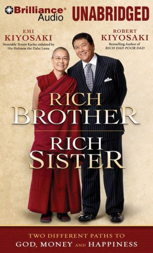 9781423372899: Rich Brother, Rich Sister: Two Different Paths to God, Money and Happiness (Brilliance Audio on MP3-CD)