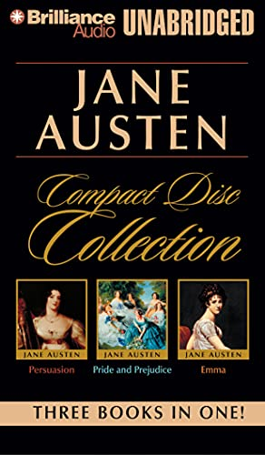 9781423386568: Jane Austen Unabridged CD Collection: Pride and Prejudice, Persuasion, Emma