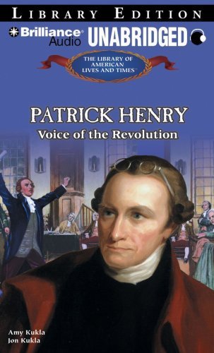 9781423394334: Patrick Henry: Voice of the Revolution (The Library of American Lives and Times Series)
