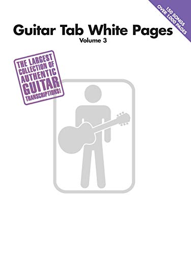 9781423400059: Guitar Tab White Pages Volume 3