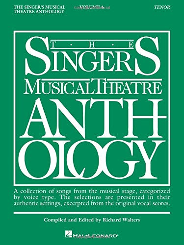 The Singers Musical Theatre Anthology, Vol. 4: Tenor