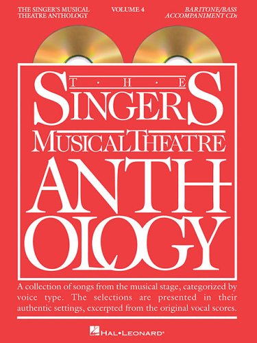 The Singer's Musical Theatre Anthology, Vol. 4, Baritone/Bass Accompaniment CDs: Hal ...