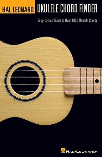 9781423400424: Hal Leonard Ukulele Chord Finder: Easy-To-Use Guide to Over 1,000 Ukulele Chords