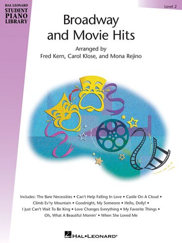 9781423400592: Broadway And Movie Hits Level 2 Book Only Hlspl (Hal Leonard Student Piano Library (Songbooks))