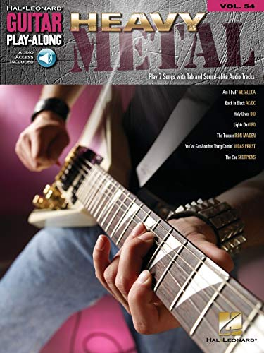 9781423400639: Heavy Metal Vol.54 BK/CD Guitar Play-Along (Hal Leonard Guitar Play-Along)