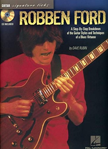 9781423401759: Robben Ford (Signature Licks)