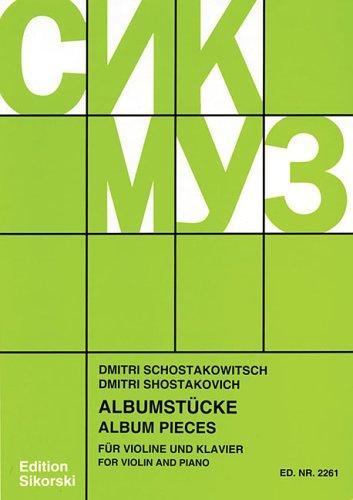 9781423402053: Album Pieces: Violin and Piano