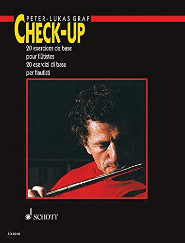 9781423402558: Check-up: 20 Basic Studies for Flautists Italian/French (Schott)