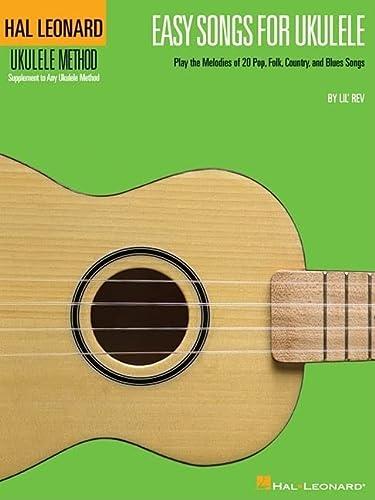 9781423402770: Easy Songs For Ukulele Supplementary Songbook To Hal Leonard Ukulele Method